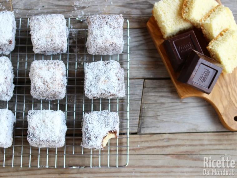Ricetta dolcetti al cioccolato e cocco