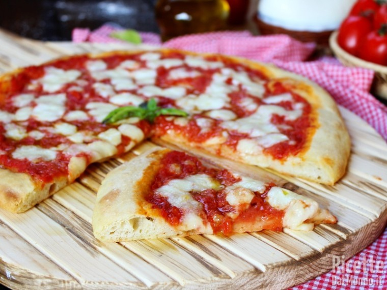 Come fare la Pizza margherita