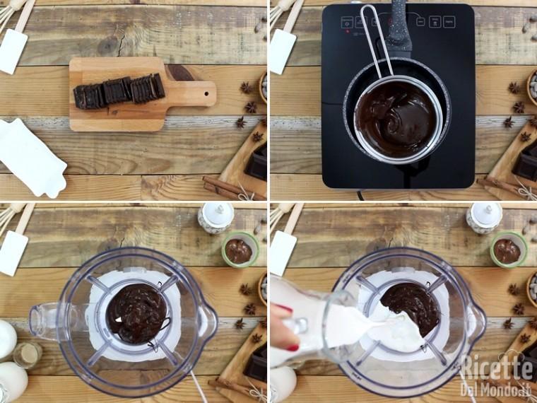 Frappè con il cioccolato 2