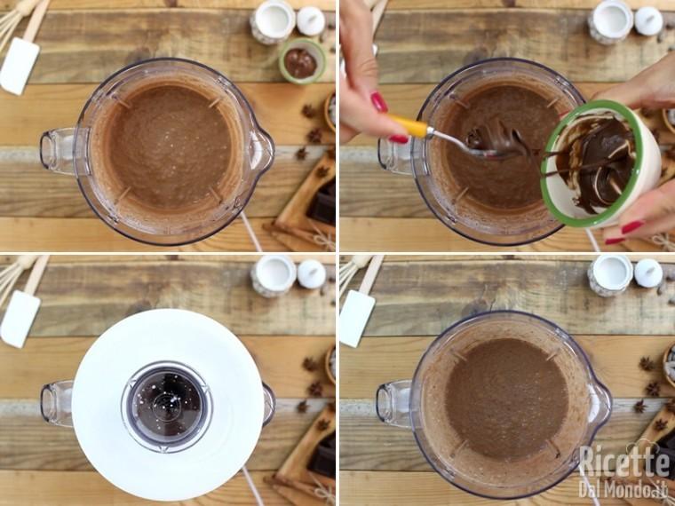 Frappè con il cioccolato 4