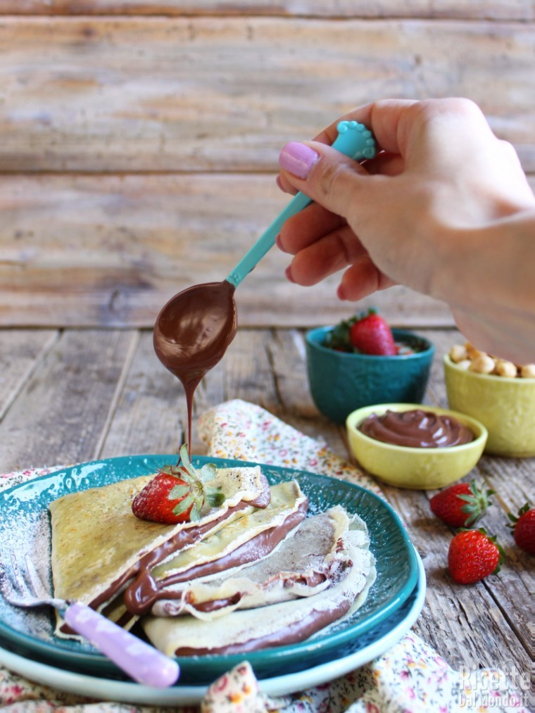 Ricetta crepes dosi con cucchiaio