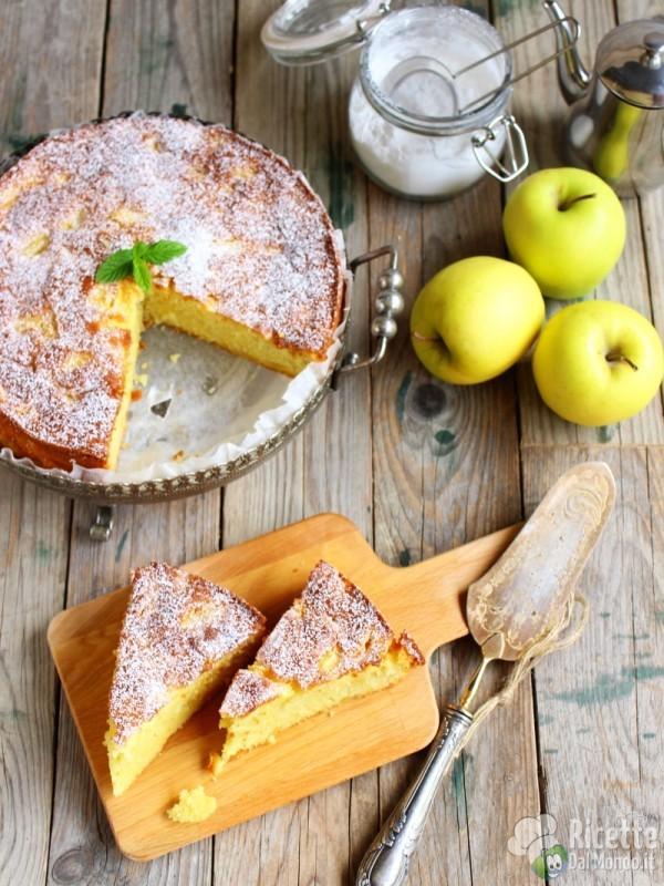 Risulato finale della torta di mele