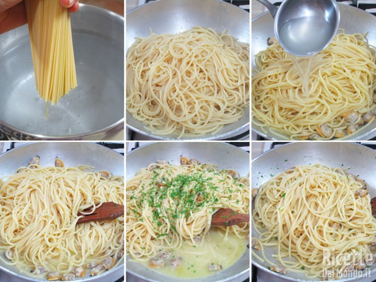 Spaghetti con le vongole 5