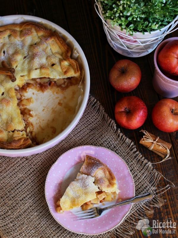 Apple pie alla cannella