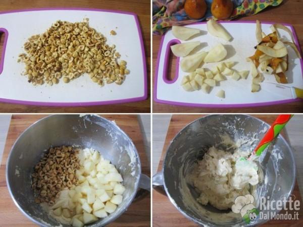 Ciambella di nocciole e pere 4