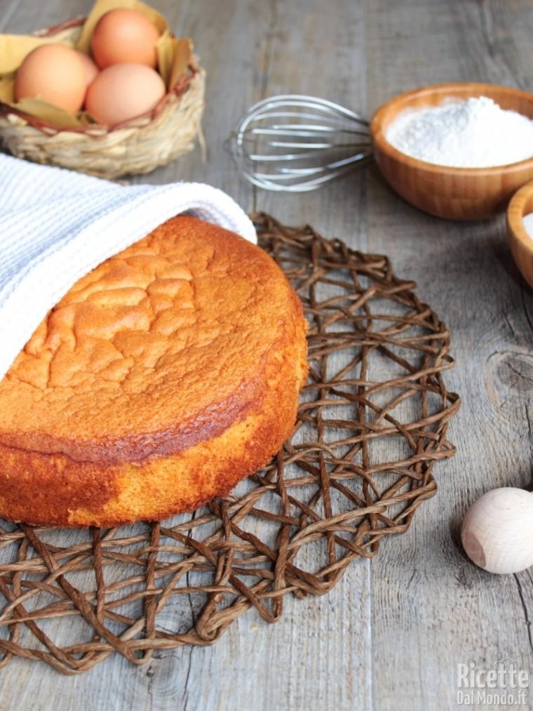 Ricetta pan di spagna perfetto - Ricetta facile e veloce