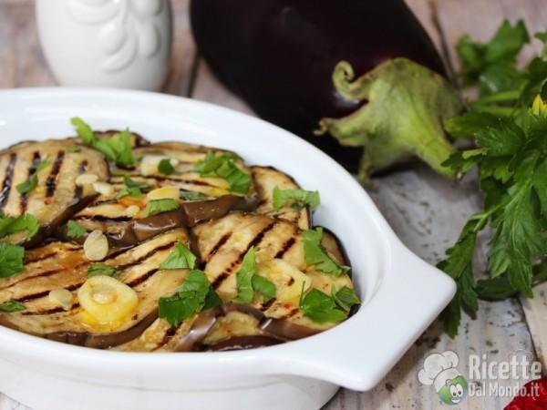 Ricetta melanzane grigliate