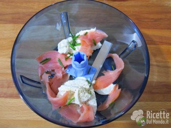 Crostini alla crema di salmone 2