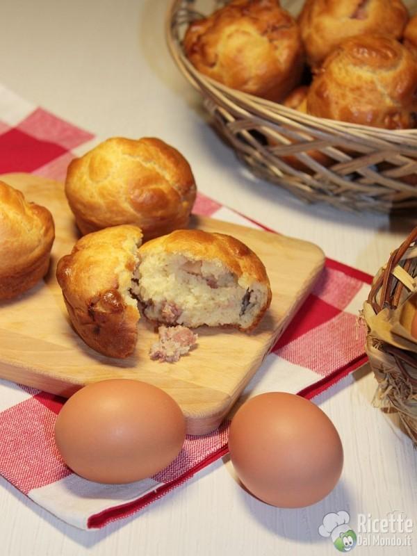 Ricetta muffin rustici