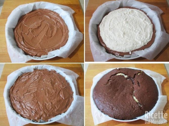 Torta cocco e cioccolato 7