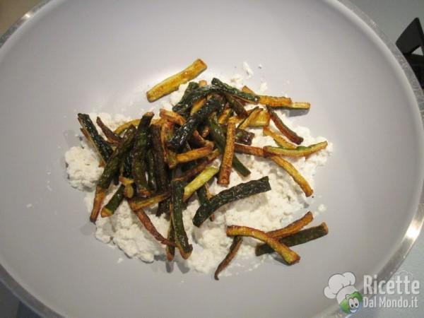 Caserecce zucchine ricotta 6