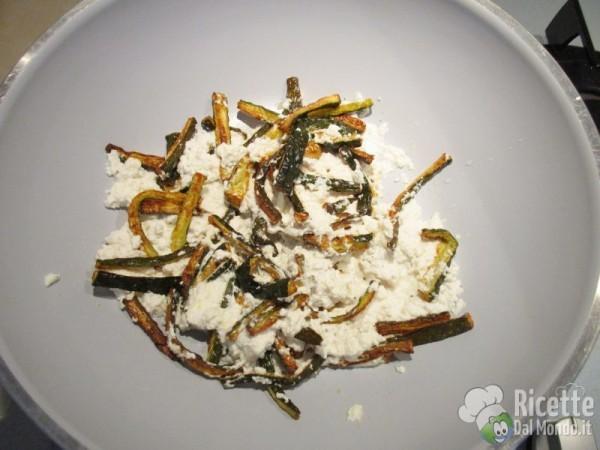 Caserecce zucchine ricotta 7