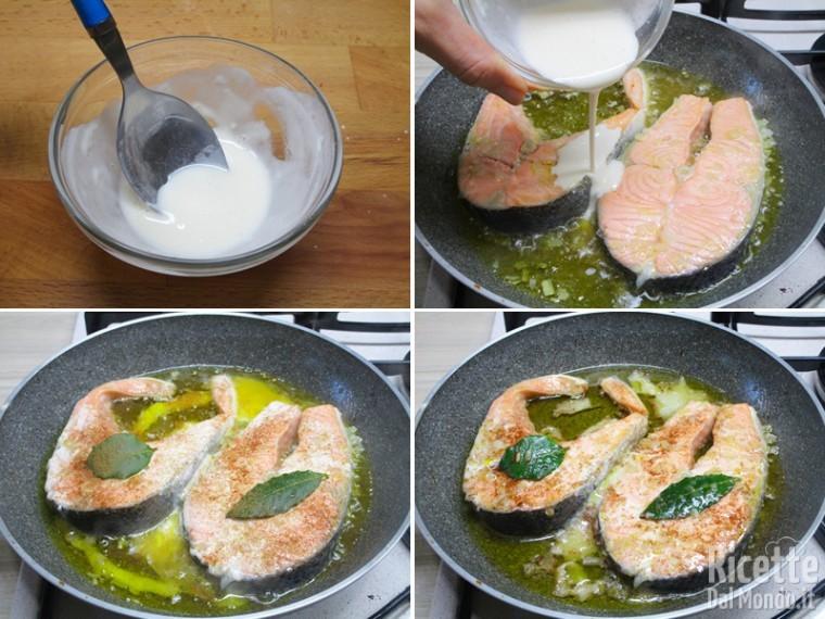 Ricette per i tranci di salmone freschi 4