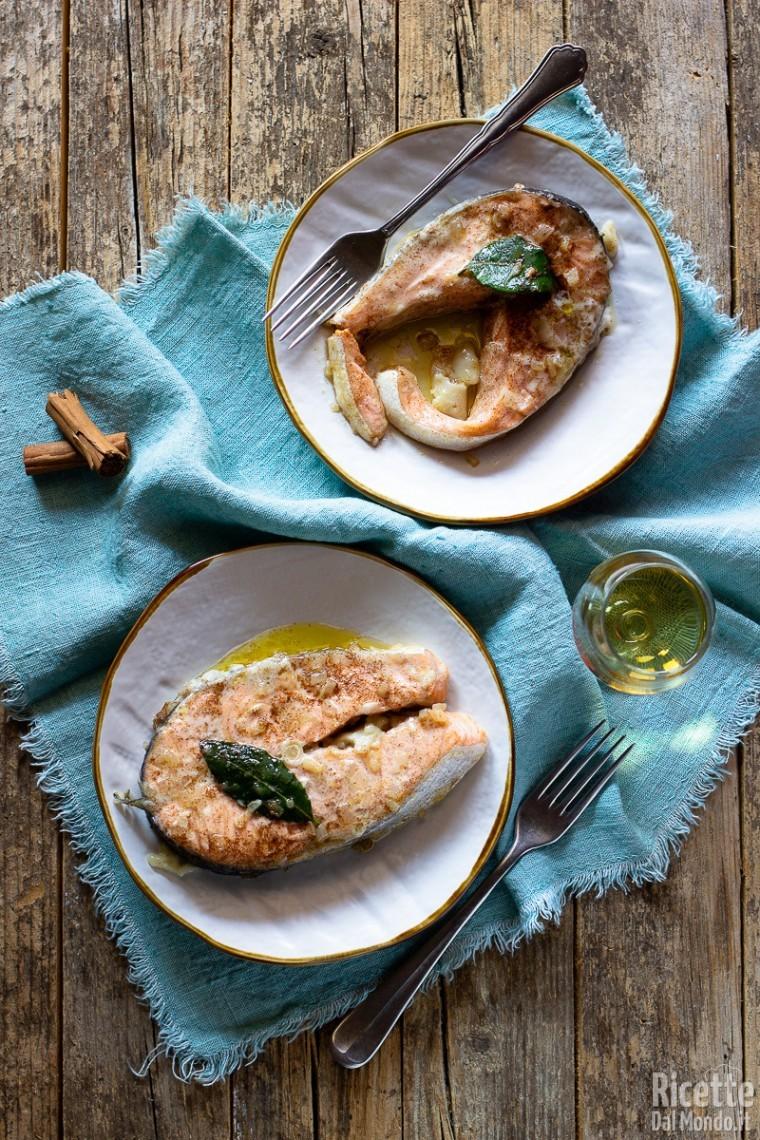 Salmone saporito ricettedalmondo