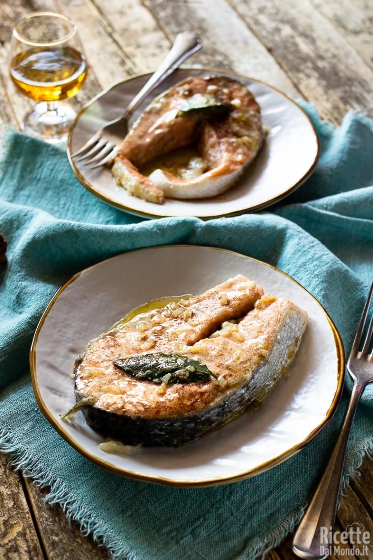 Ricette per i tranci di salmone freschi 6