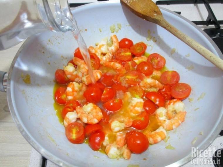 Bigoli gamberetti e pomodorini 7