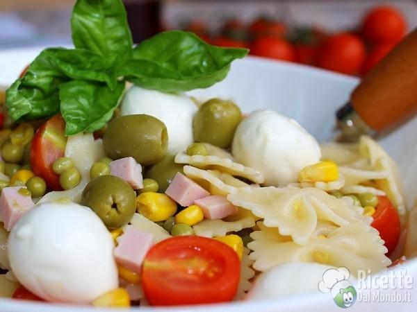 Ricetta pasta fredda mista