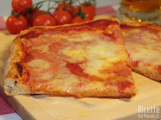 Ricetta pizza Bimby
