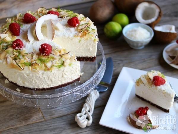 Come fare la cheesecake al cocco
