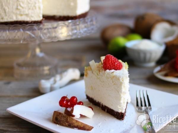 Come fare una cheesecake al cocco
