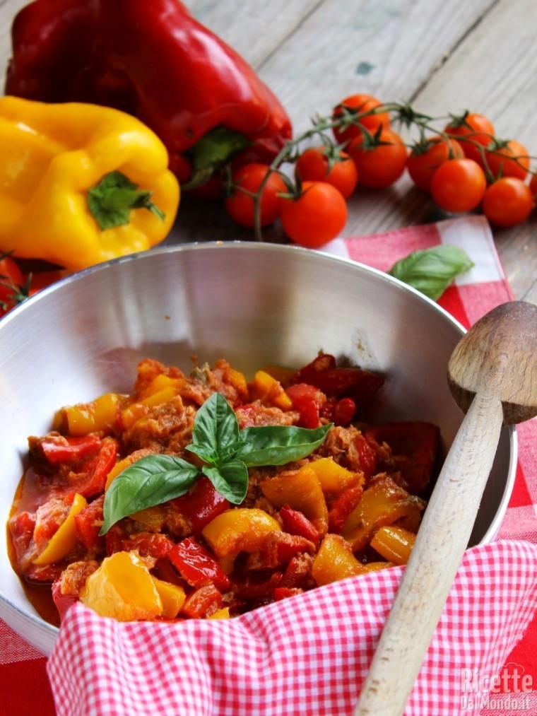 Ricetta peperoni gustosi Bimby