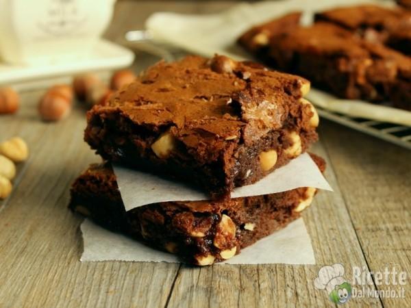 Ricetta brownies americani