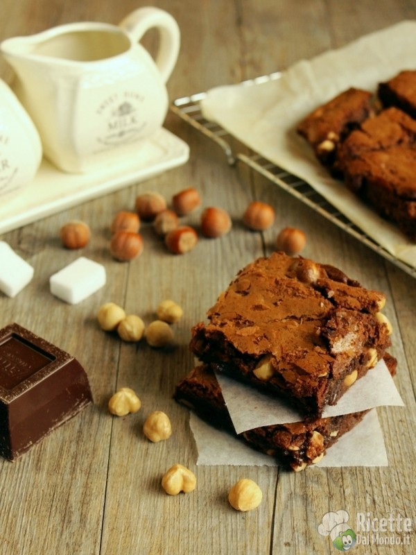 Come fare i brownies alle nocciole
