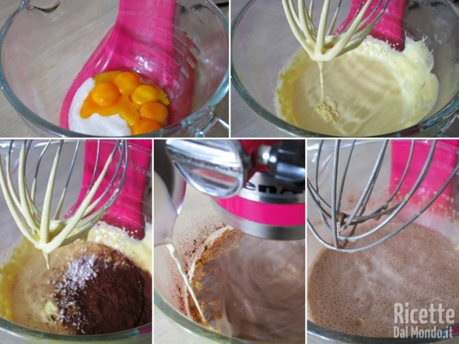 Iniziare a preparare la crema al cioccolato