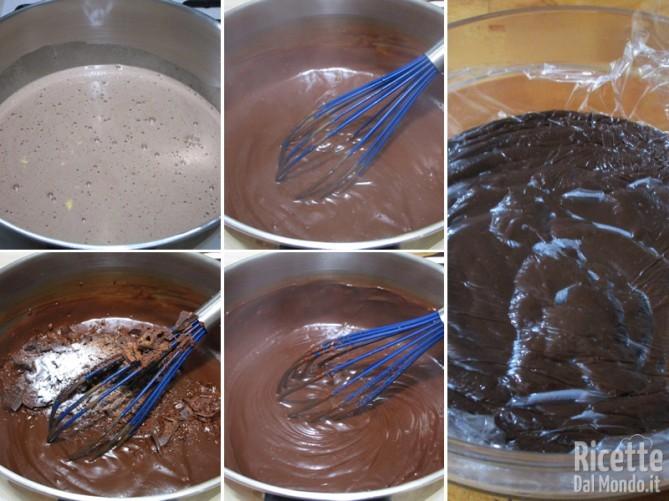 Cuocere e raffreddare la crema
