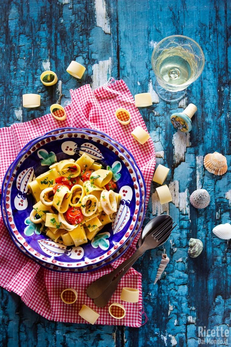 Pasta con i calamari 6