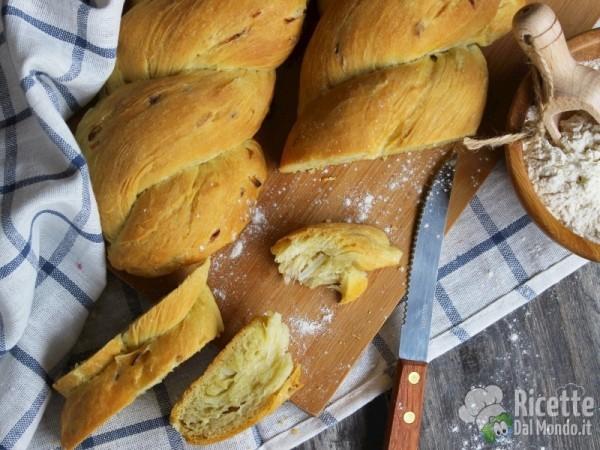 Ricetta dei panini alla cipolla