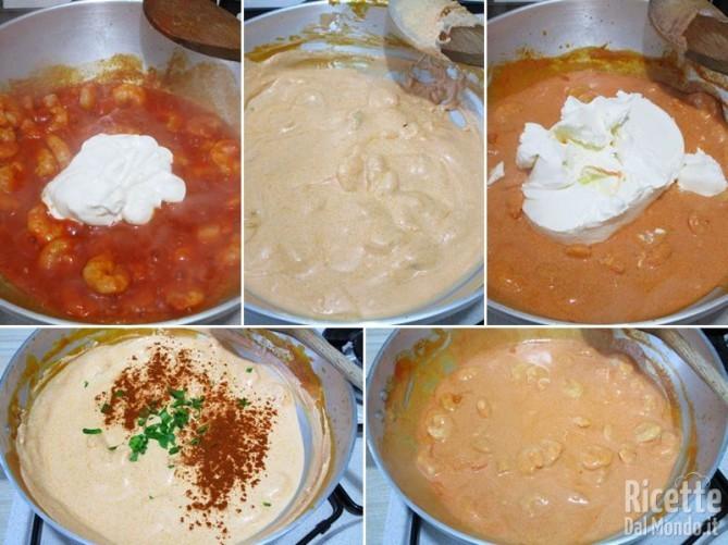 Crepes di gamberetti e mascarpone 7