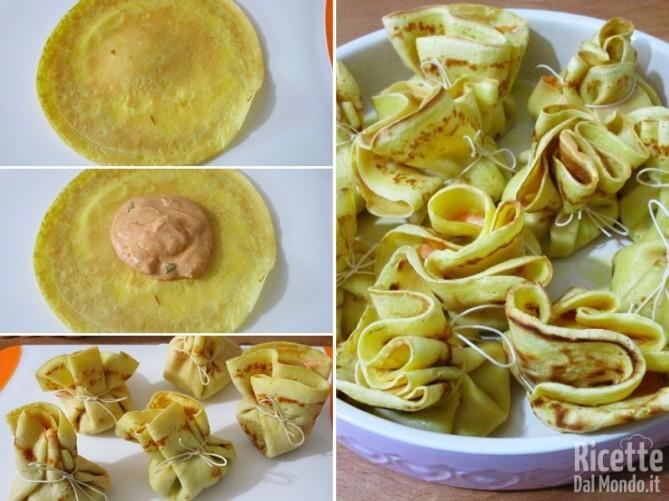 Crepes di gamberetti e mascarpone 8