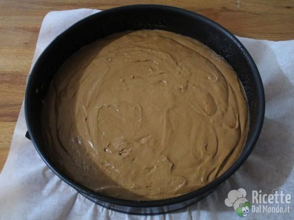 Torta al cioccolato farcita 6