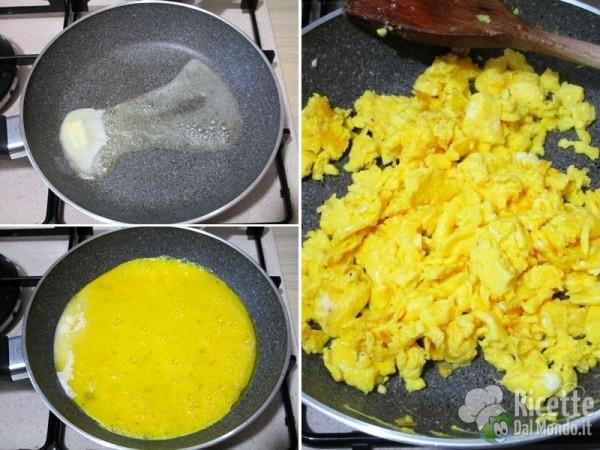 Asparagi uova e pane 5