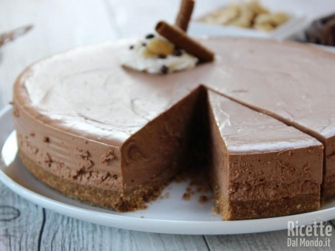 Ricetta cheesecake al cioccolato senza cottura