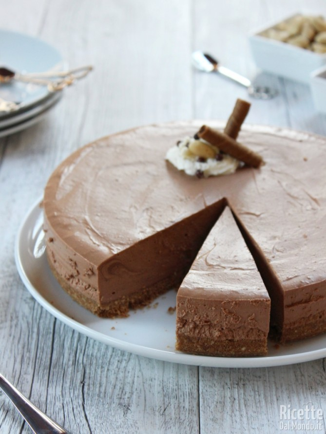 Come fare la cheesecake al cioccolato fredda