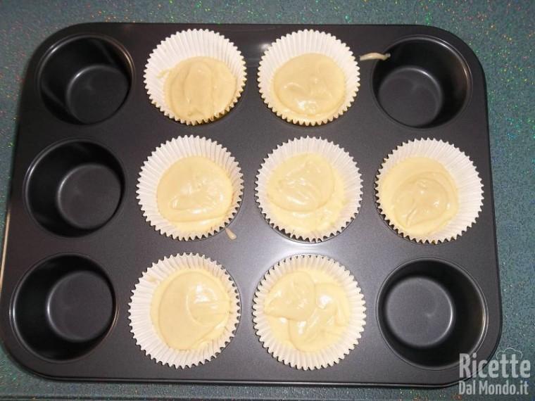 Muffin con cuore alla Nutella 6