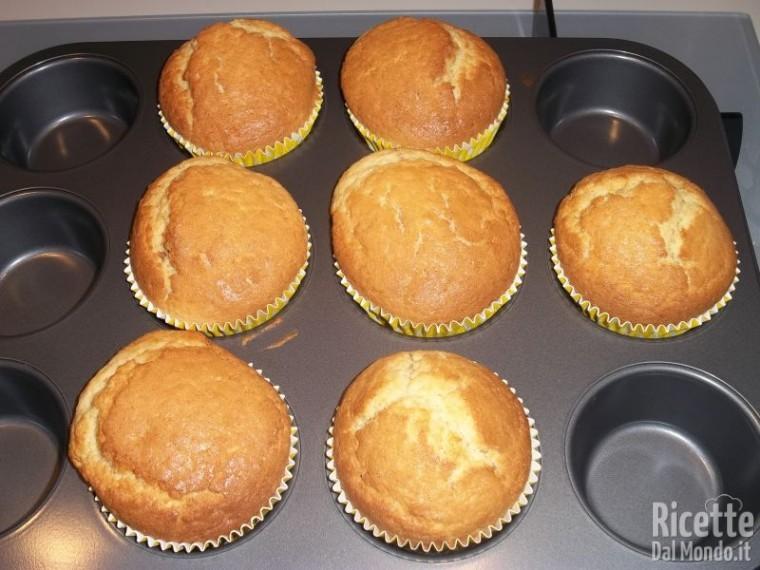 Muffin con cuore alla Nutella 9