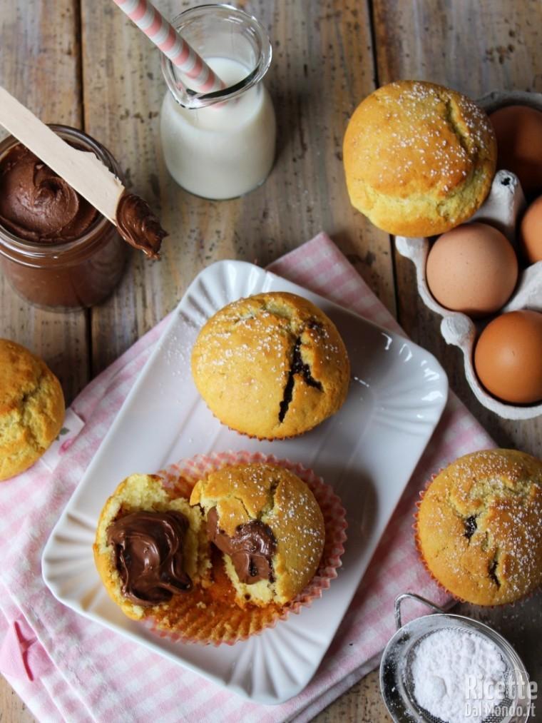 Come fare i Muffin alla Nutella