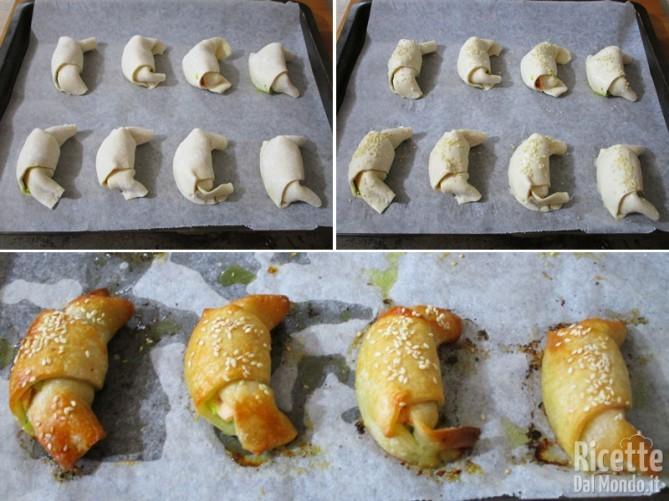 Cuocere i croissant