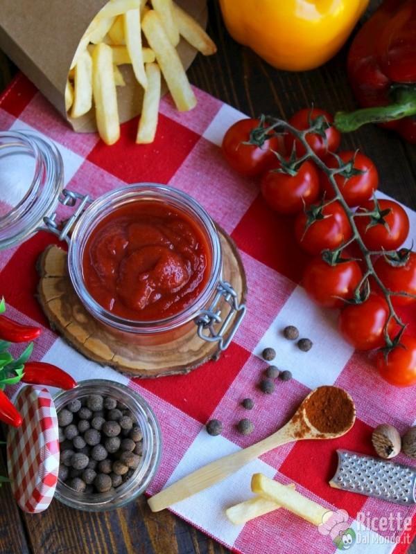 Ricetta ketchup fatto in casa semplice