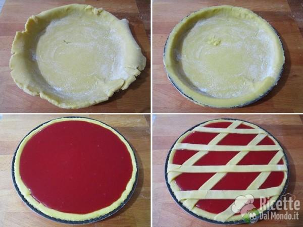 Crostata con gelo di mellone 3