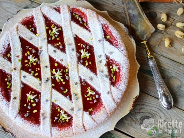 Ricetta crostata al gelo di anguria
