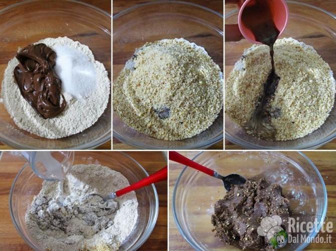 Palline di Nutella e farina di castagne 3