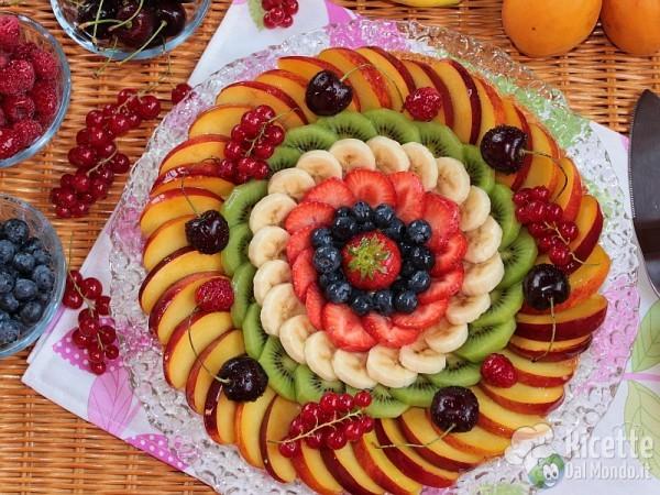 Ricetta crostata di frutta ricette crostate - Decorare frigorifero ...