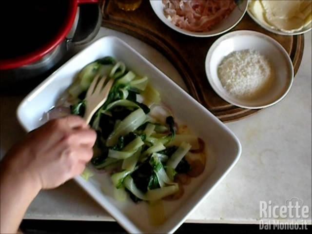 Coste al forno con Mozzarella