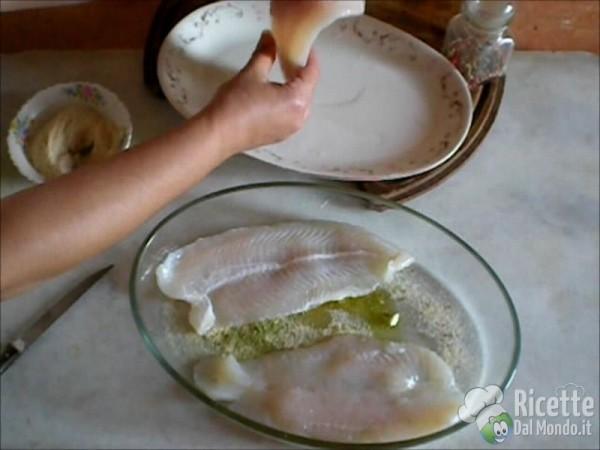 Filetti di Pangasio in Forno al Gratin