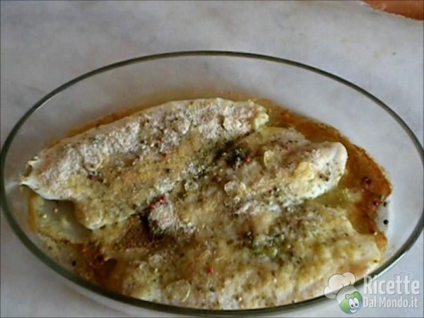 Filetti di Pangasio in Forno al Gratin