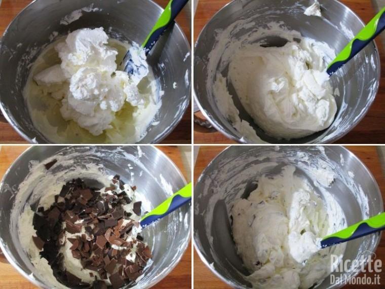 Cheesecake alla stracciatella 8